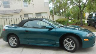1997 Mitsubishi Eclipse Spyder Gs Convertible 2 - Door 2.  4l Convertible Top photo