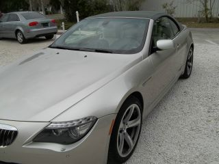 2008 Bmw 650i Base Convertible 2 - Door 4.  8l photo