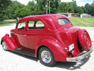 1936 Ford 2 - Door Sedan Street Rod - Good Straight Body - All Steel photo