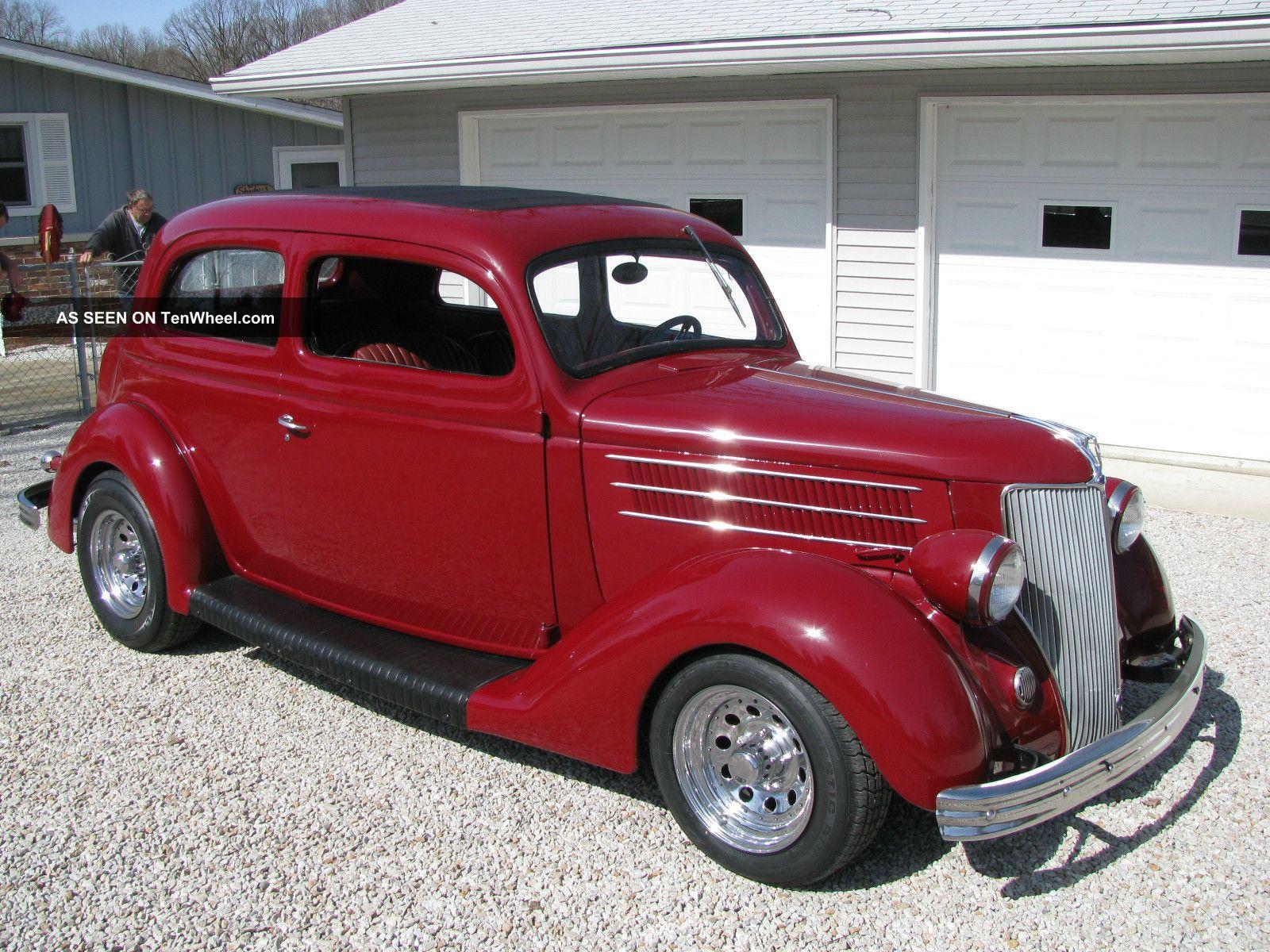 1936 ford 2 door sedan street rod good straight body for 1936 ford 2 door sedan