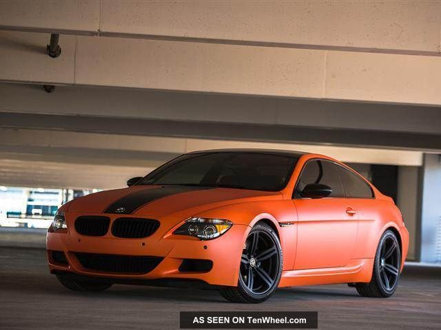 2006 Bmw M6 Base Coupe 2 - Door 5.  0l M6 photo