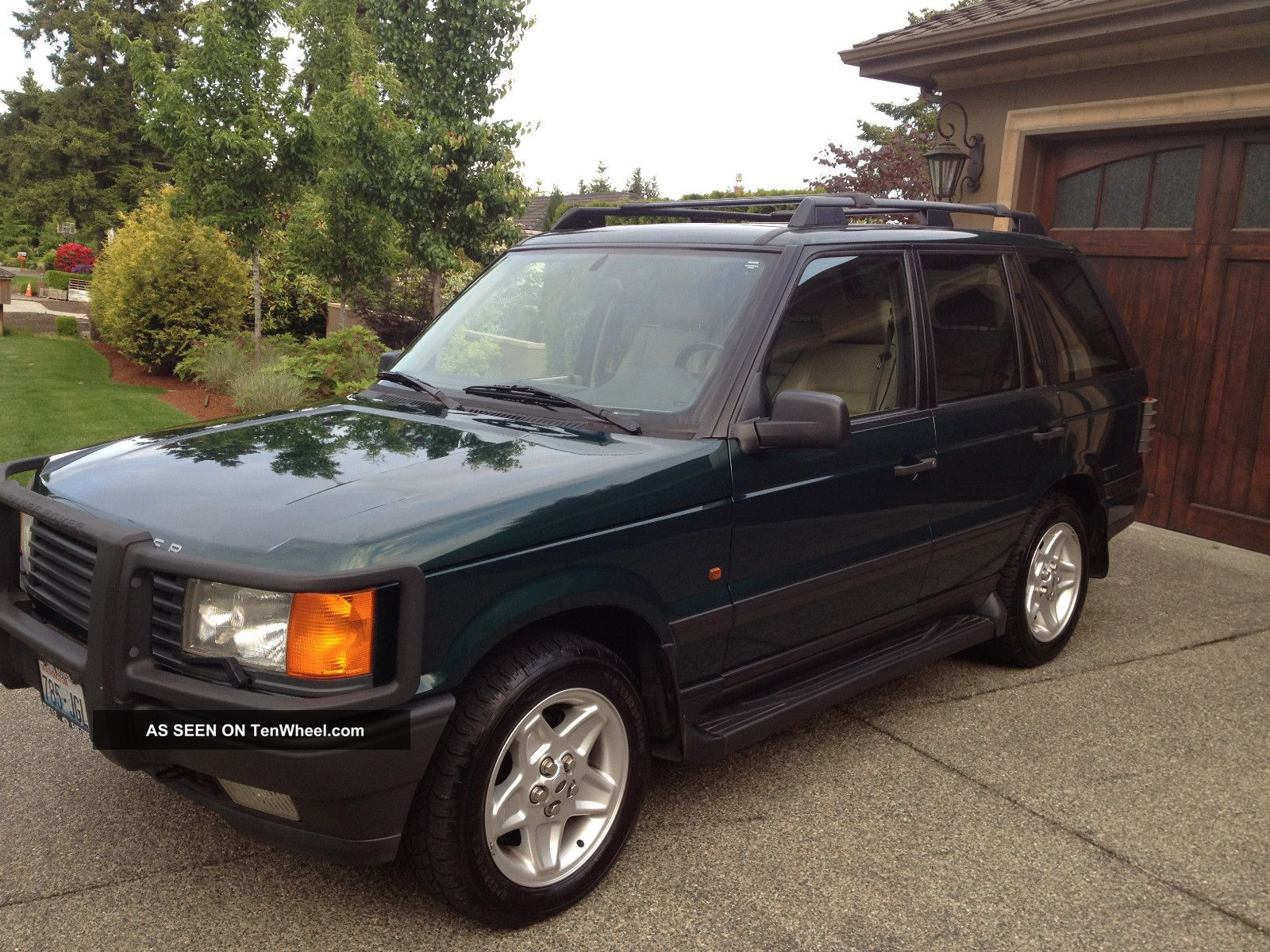 1997 land rover range rover 4 6 hse sport utility 4 door. Black Bedroom Furniture Sets. Home Design Ideas