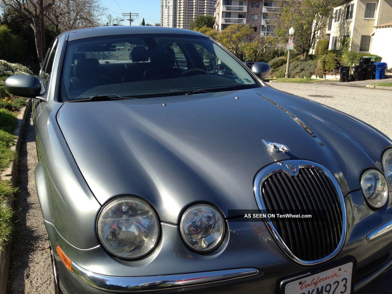 2003 jaguar s type v8 4 2l 4 door gray exterior black interior. Black Bedroom Furniture Sets. Home Design Ideas