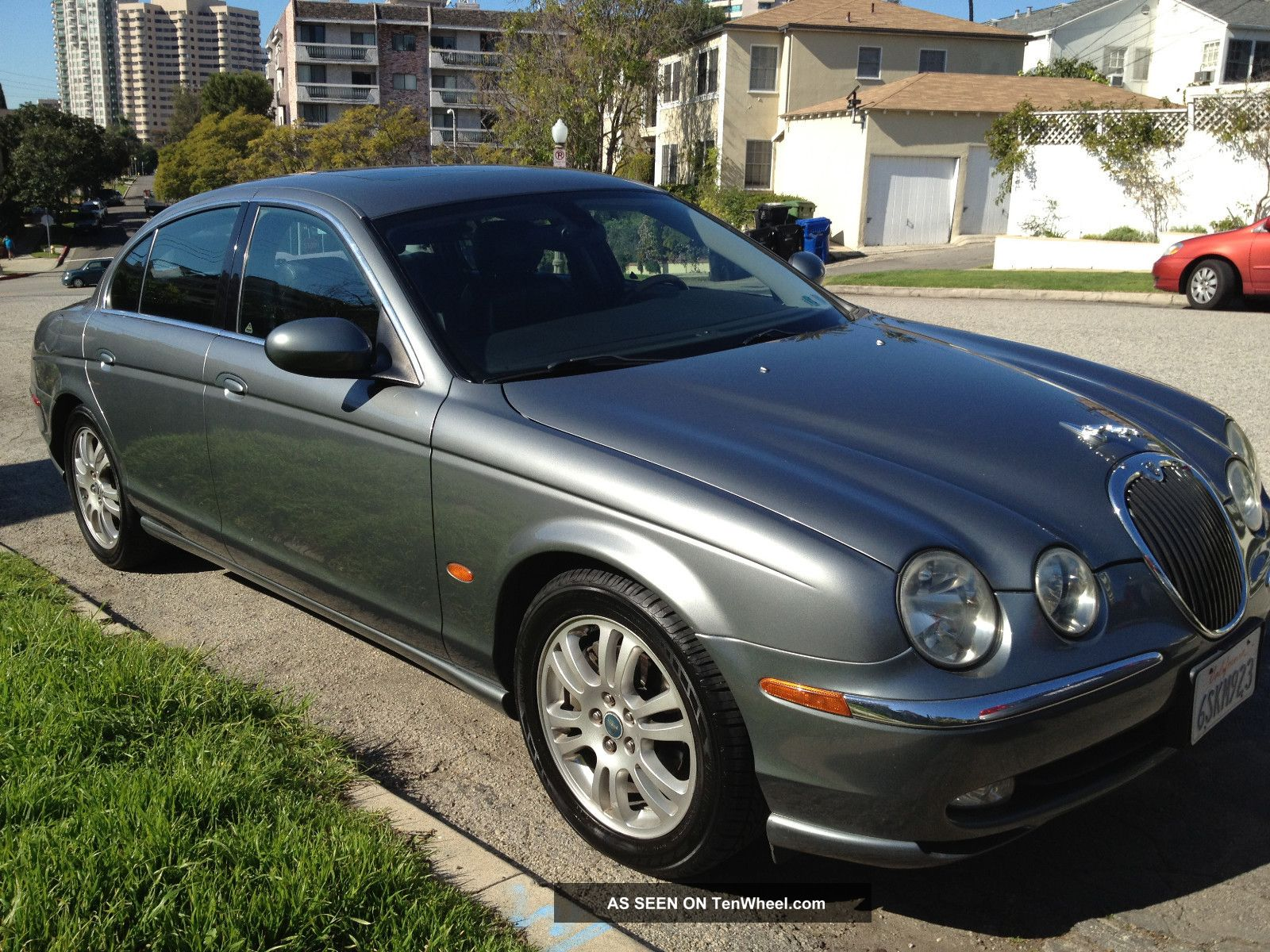 2003 jaguar s type v8 4 2l 4 door gray exterior. Black Bedroom Furniture Sets. Home Design Ideas