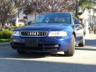 2001 Audi S4 Sedan Auto Blue photo