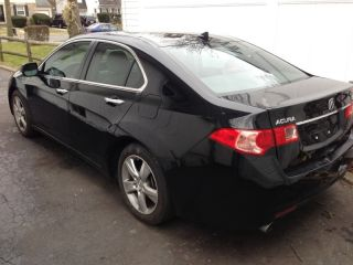 2011 Acura Tsx Sedan Automatic Seats Flood Damage But Runs Exllent photo