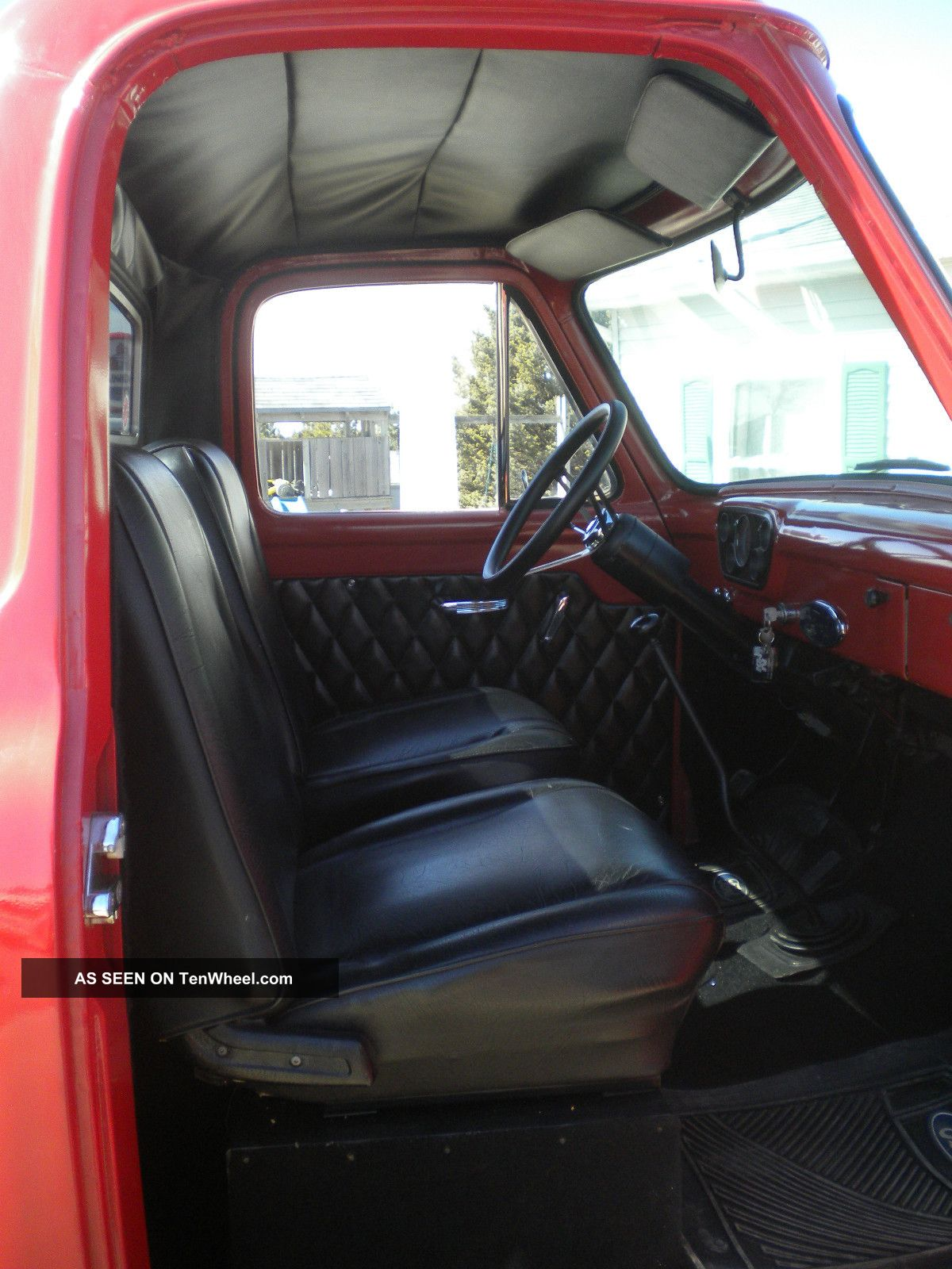 1955 Ford F100 4x4 Custom Truck Hot Rod Rat Lifted Pickup V Trucks Eight 400
