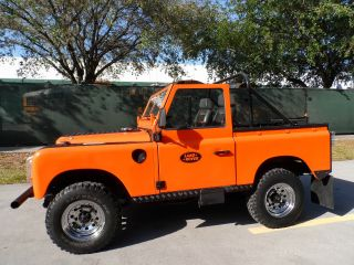1970 Land Rover Series Defender Rare 2wd Collector Car Convertible Suv photo