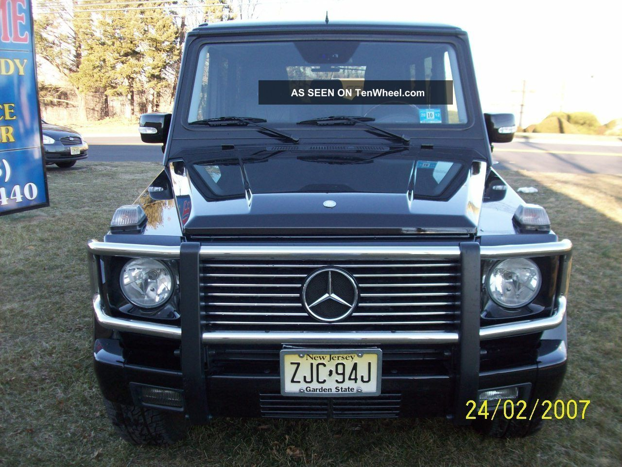 Prestine 2003 mercedes benz g500 v8 for Mercedes benz g class used 2003