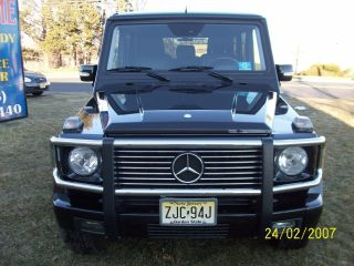 Prestine 2003 Mercedes - Benz G500 V8 photo