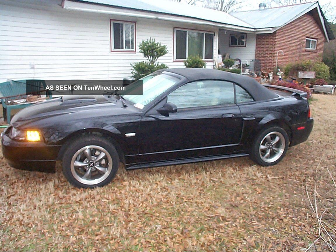 2003 Mustang Centennial Edition Gt Convertible
