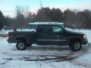 2004 Gmc Sierra / Silverado 2500 4x4 Full 4 Door 6.  0l Engine photo