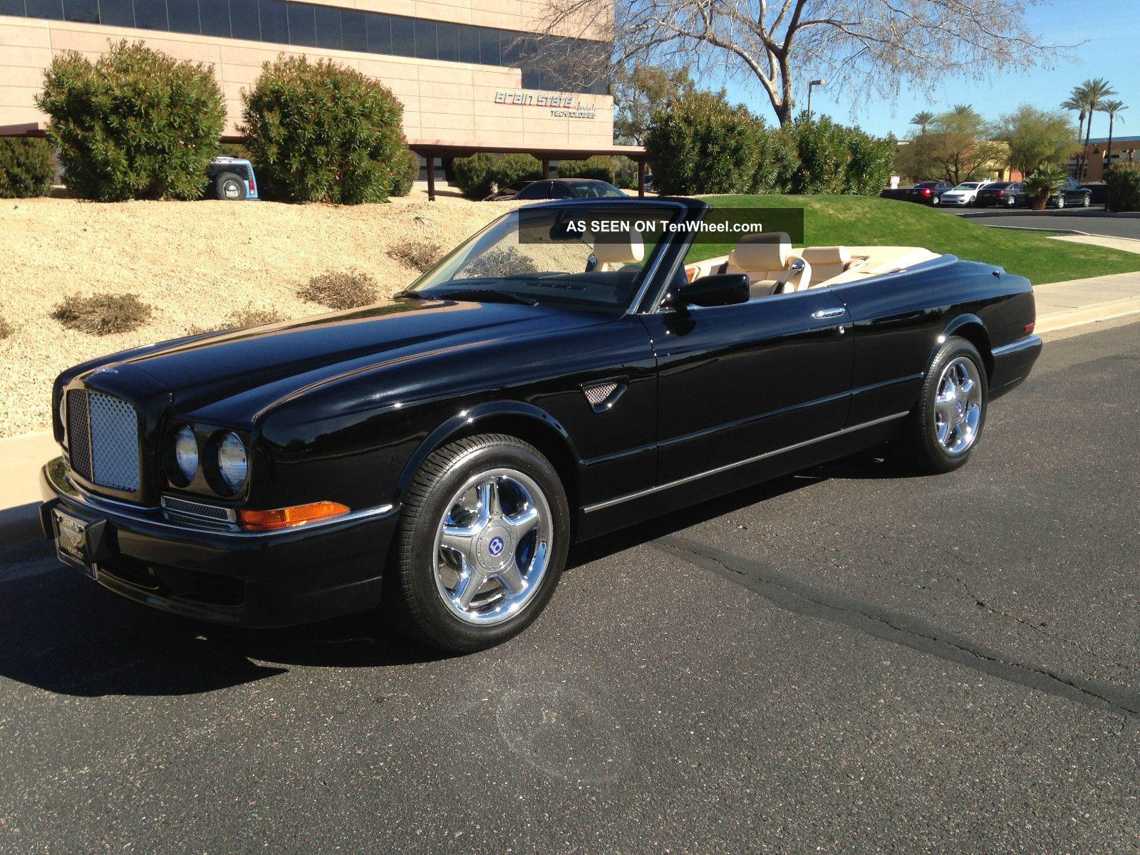 2000 Bentley Azure Mulliner 25k Huge Service At Dealer 3 12
