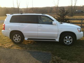 2001 Toyota Highlander Limited Sport Utility 4 - Door 3.  0l photo