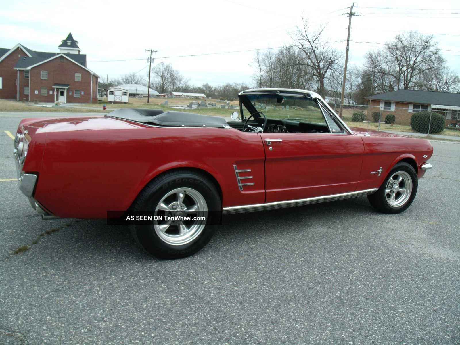1966 ford mustang convertible. Black Bedroom Furniture Sets. Home Design Ideas