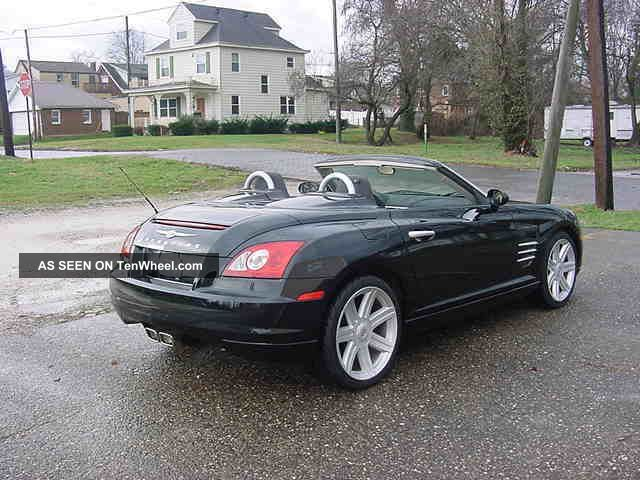Chrysler Crossfire Convertible Limited Loaded Lgw