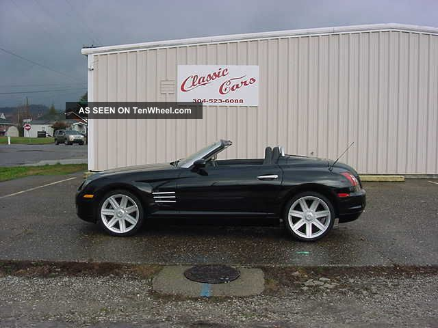 2005 Chrysler Crossfire Convertible Limited Loaded Crossfire photo