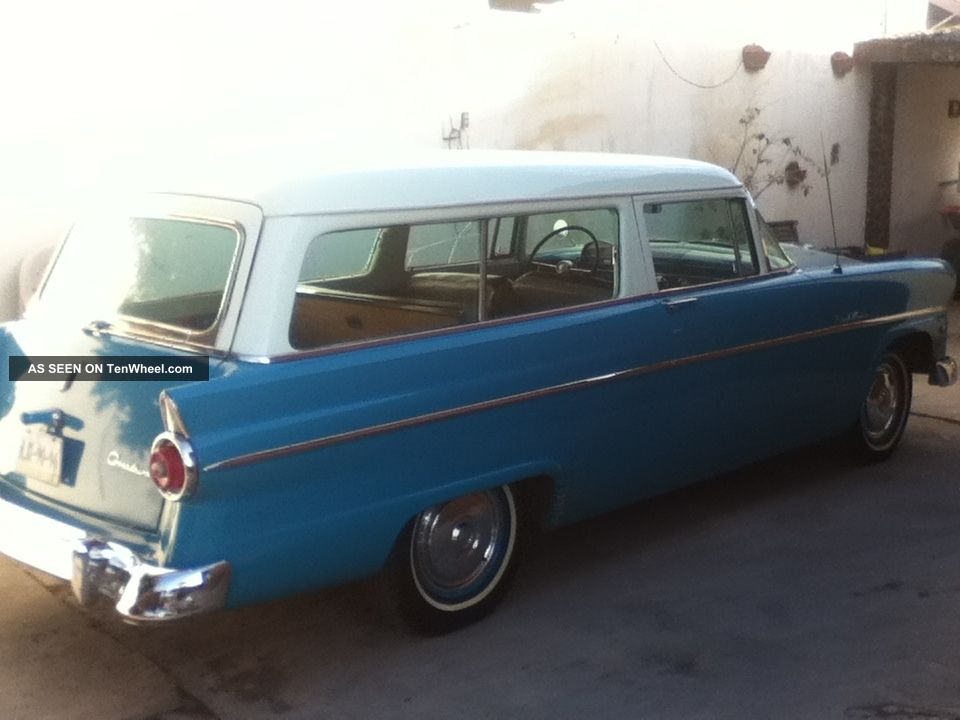 Classic 1955 ford ranch wagon for 1955 ford 2 door wagon