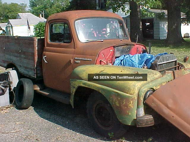 1953 International 1 Ton Pickup Html Autos Post