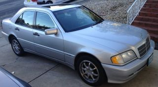 1999 Silver Mercedes Benz C280 C - Class Sedan photo
