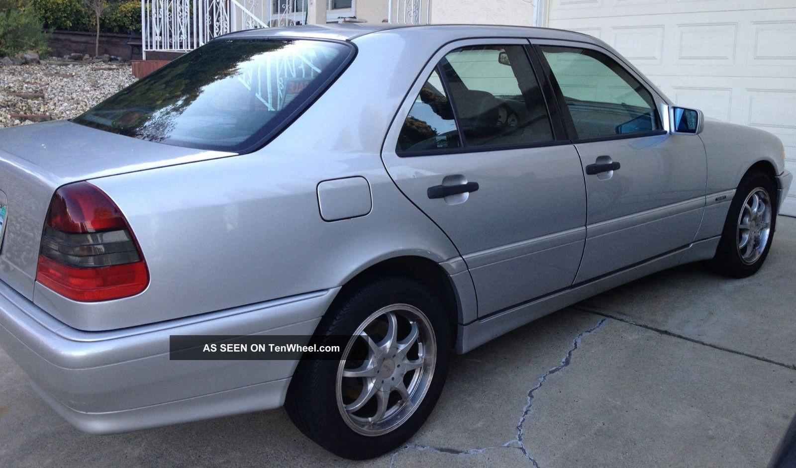 1999 silver mercedes benz c280 c class sedan for Mercedes benz c class sedan