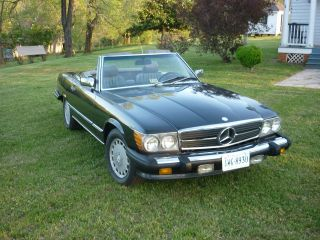 1987 Mercedes 560 Sl Convertible photo