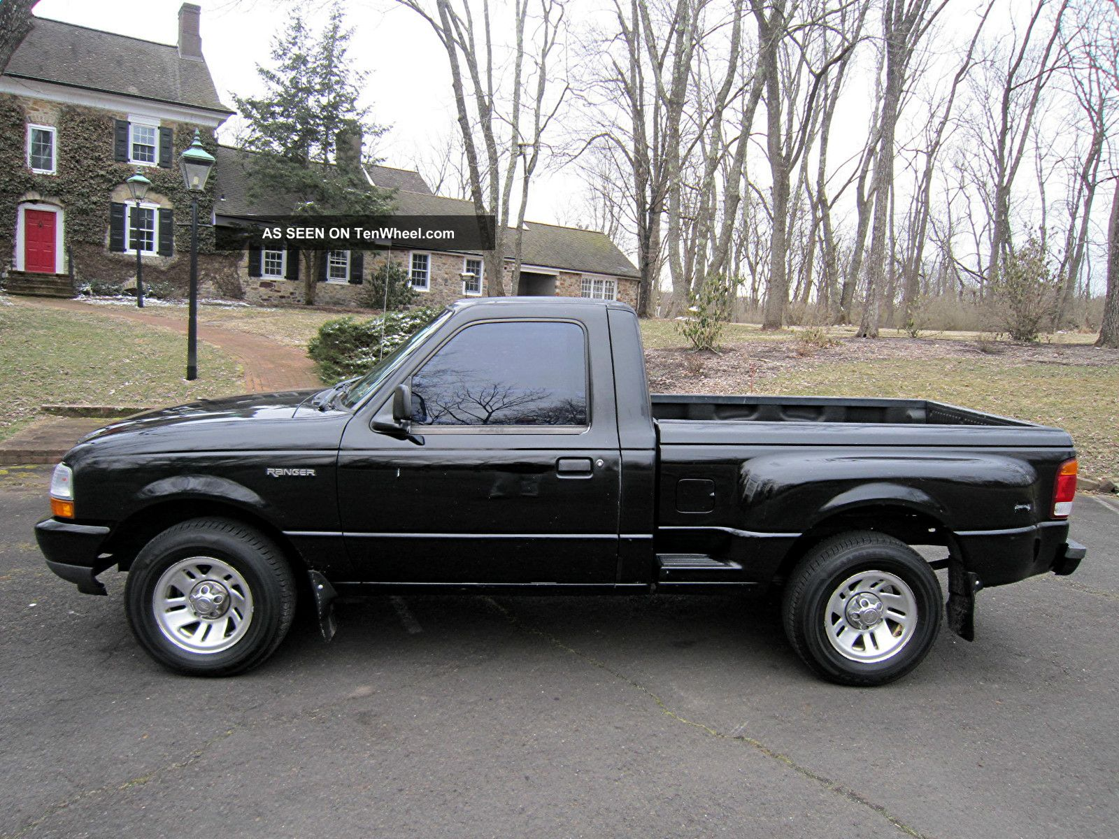 1999 Ford Ranger Step Side Pickup Truck With 5 Speed Manual. . . Ranger photo