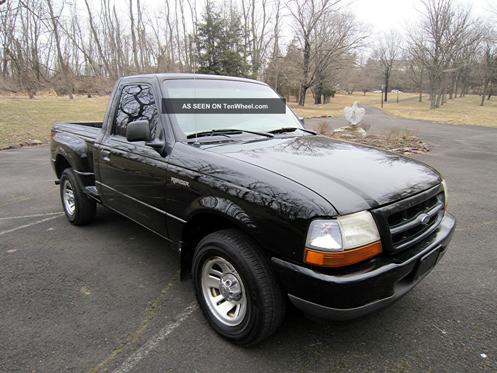 1999 ford ranger step side pickup truck with 5 speed manual