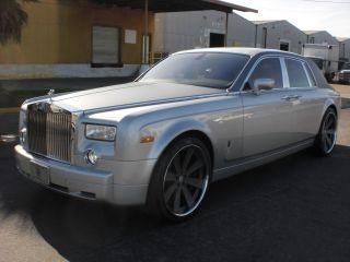 2004 Rolls Royce Phantom Sedan Silver photo