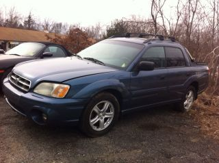 2006 Subaru Baja,  Rebuildable, photo