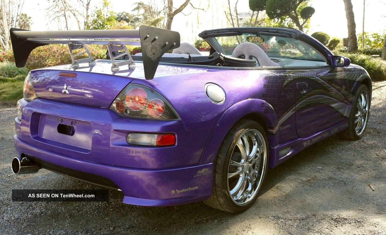 Fast Amp Furious 2003 Mitsubishi Eclipse Spyder Gts