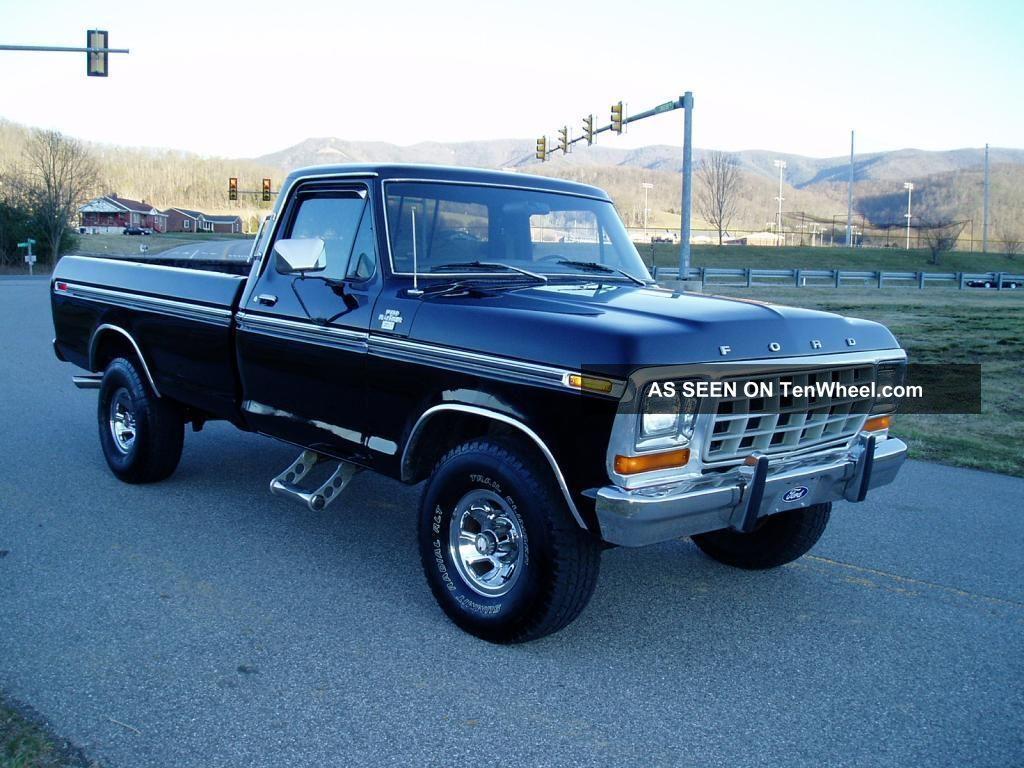 1978 Ford F150 Ranger Xlt    4x4    351 Cid V8    Great