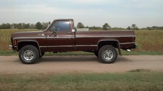 1978 Chevy With 5.  3 / 4l60e photo