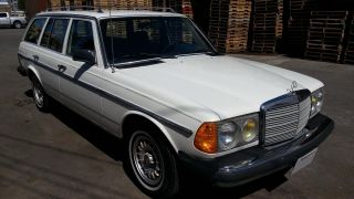 1985 Mercedes Benz 300td Wagon Non - Turbo Diesel Euro Model W123 photo