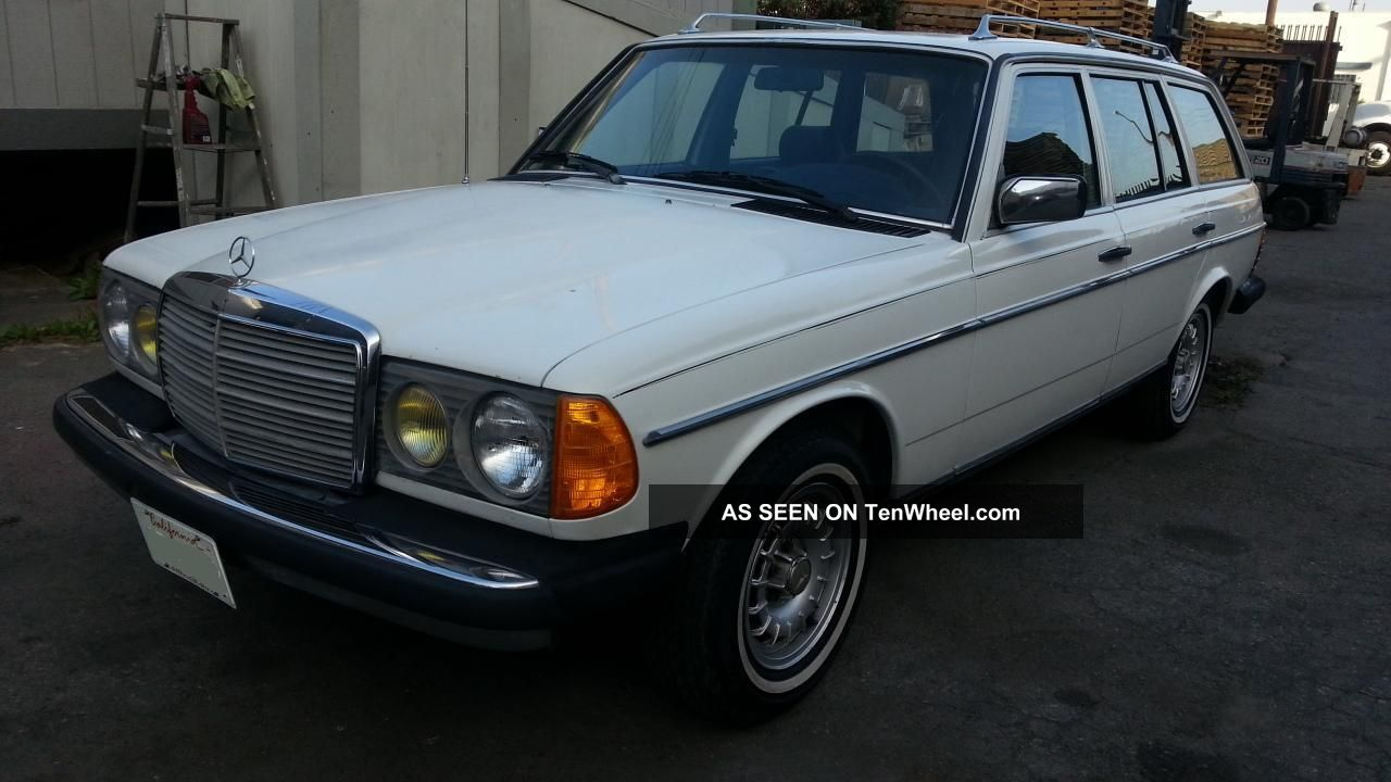 1985 mercedes benz 300td wagon non turbo diesel euro for Mercedes benz wagons