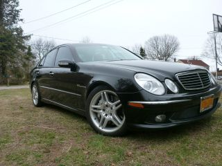 2005 E55 Amg Mercedes Benz Sedan 4 - Door 5.  5l photo