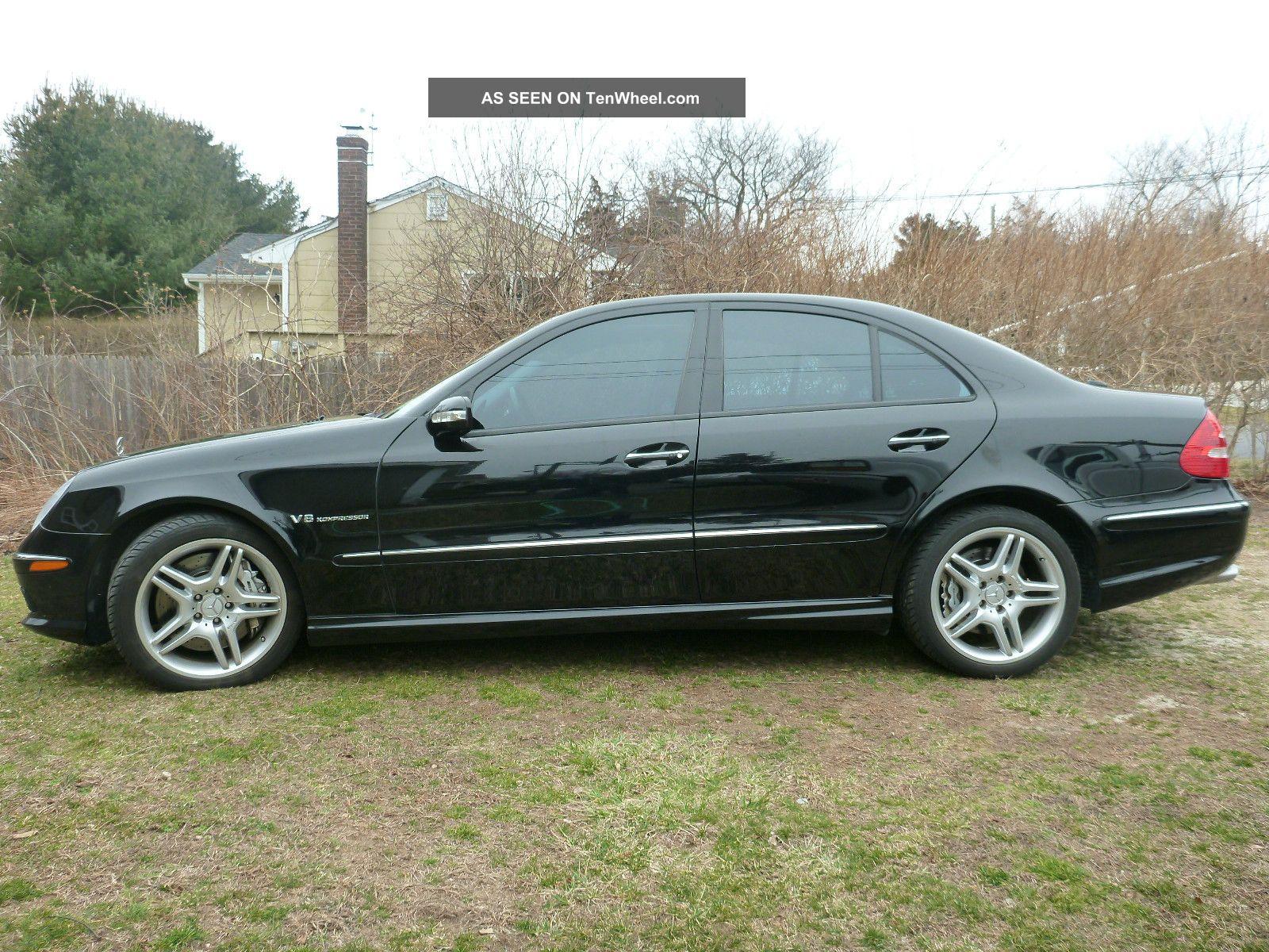 2005 e55 amg mercedes benz sedan 4 door 5 5l for Mercedes benz e class 2005