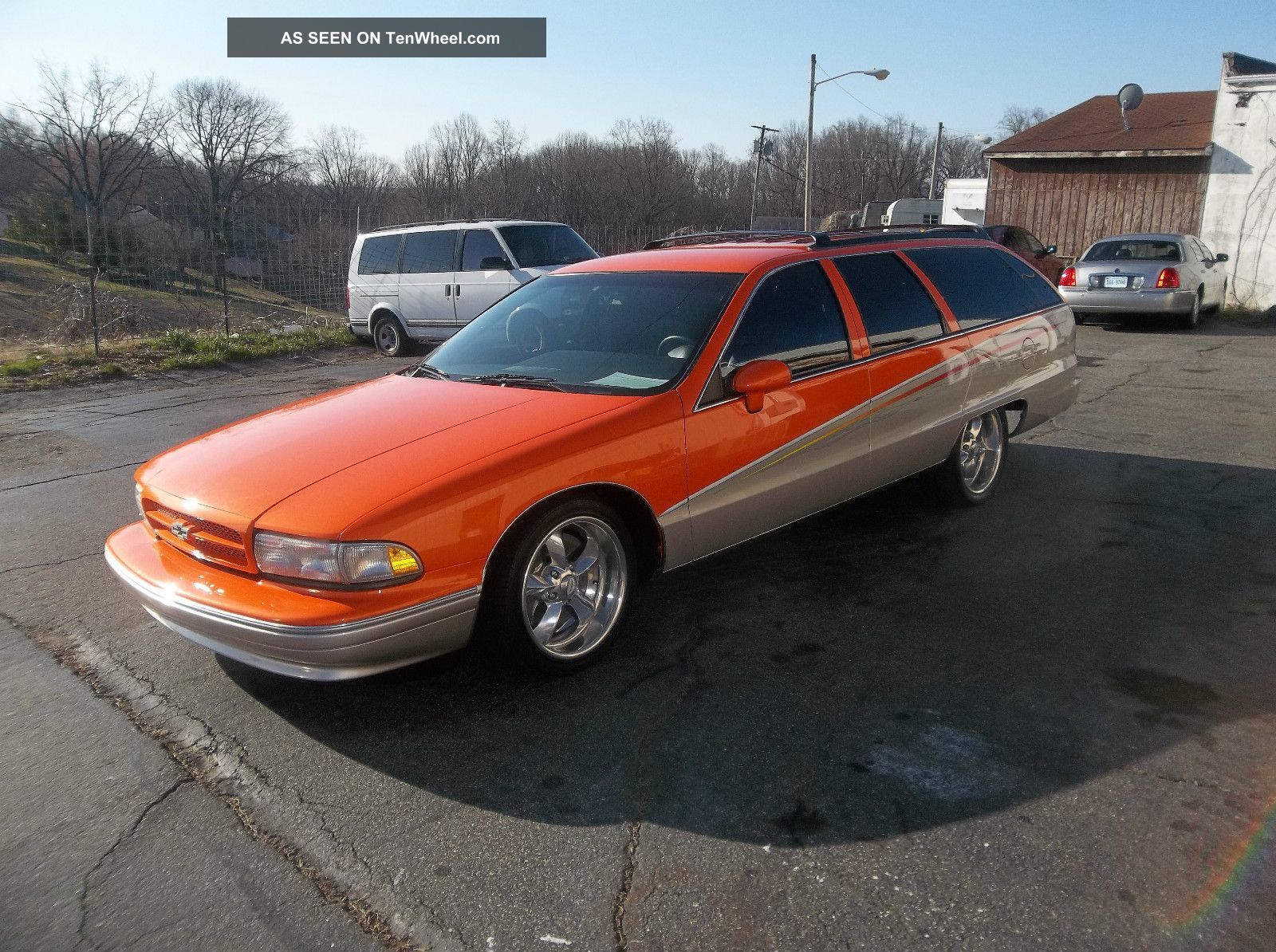 1991 Caprice Classic Station Wagon Street Rod With Ls Engine