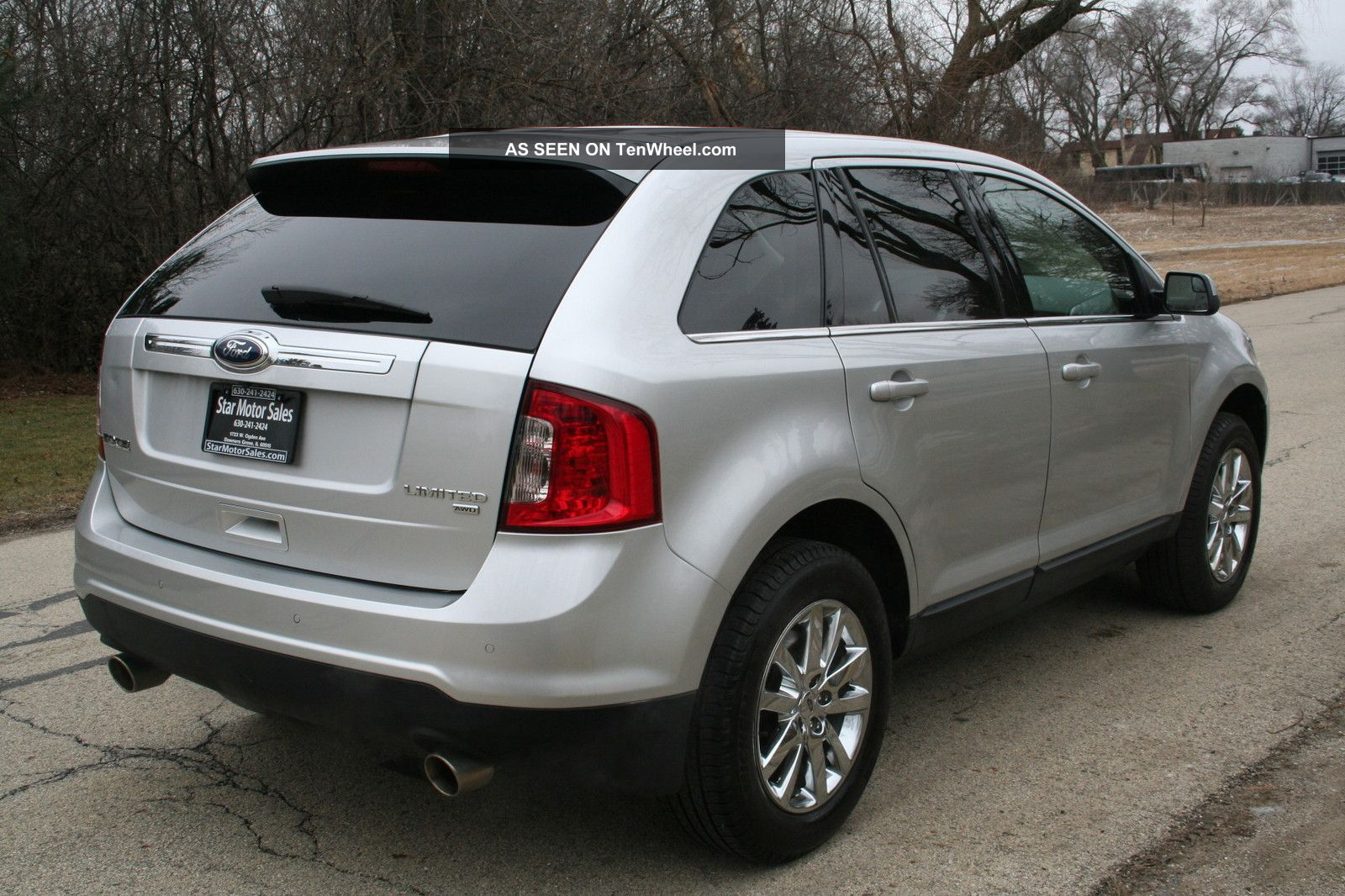 2012 ford edge engine options