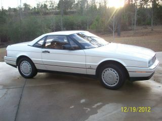 1989 Cadillac Allante Base Convertible 2 - Door 4.  5l photo