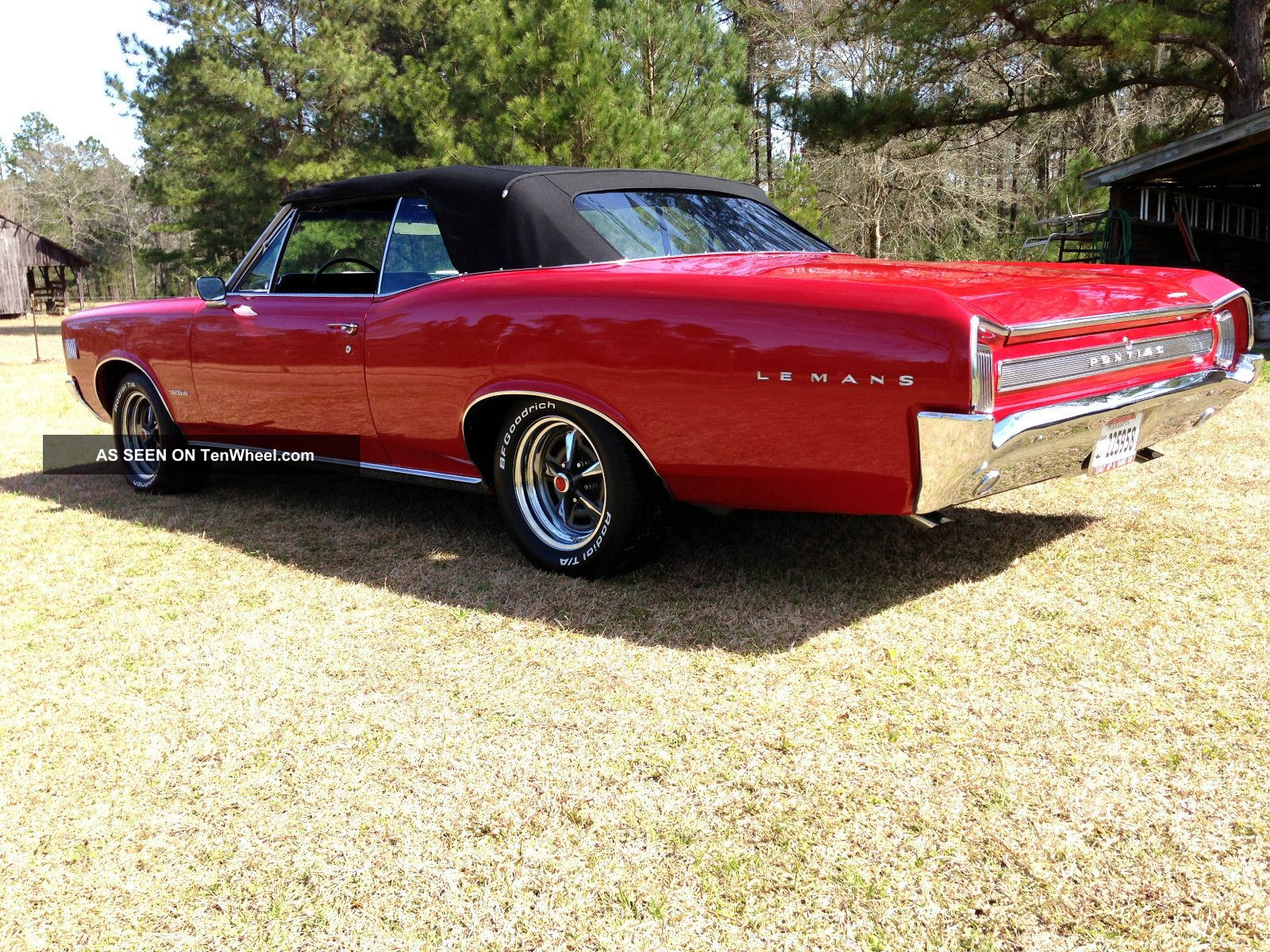 1966 Pontiac Lemans Not Gto Convertible