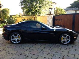 2011 Ferrari California Base Convertible 2 - Door 4.  3l photo