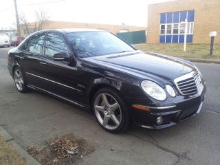 2007 Mercedes - Benz E63 Amg Base Sedan 4 - Door 6.  3l photo