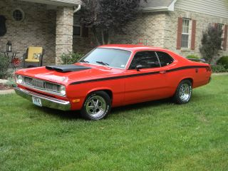 1972 Duster 340 / 416 Real Fe5 Rallye Red Car photo