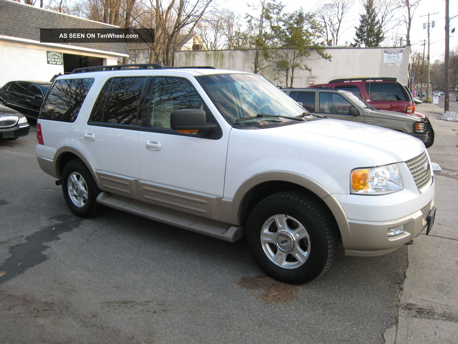 2006 ford expedition 4wd eddie bauer 5 4 cheap truck. Black Bedroom Furniture Sets. Home Design Ideas