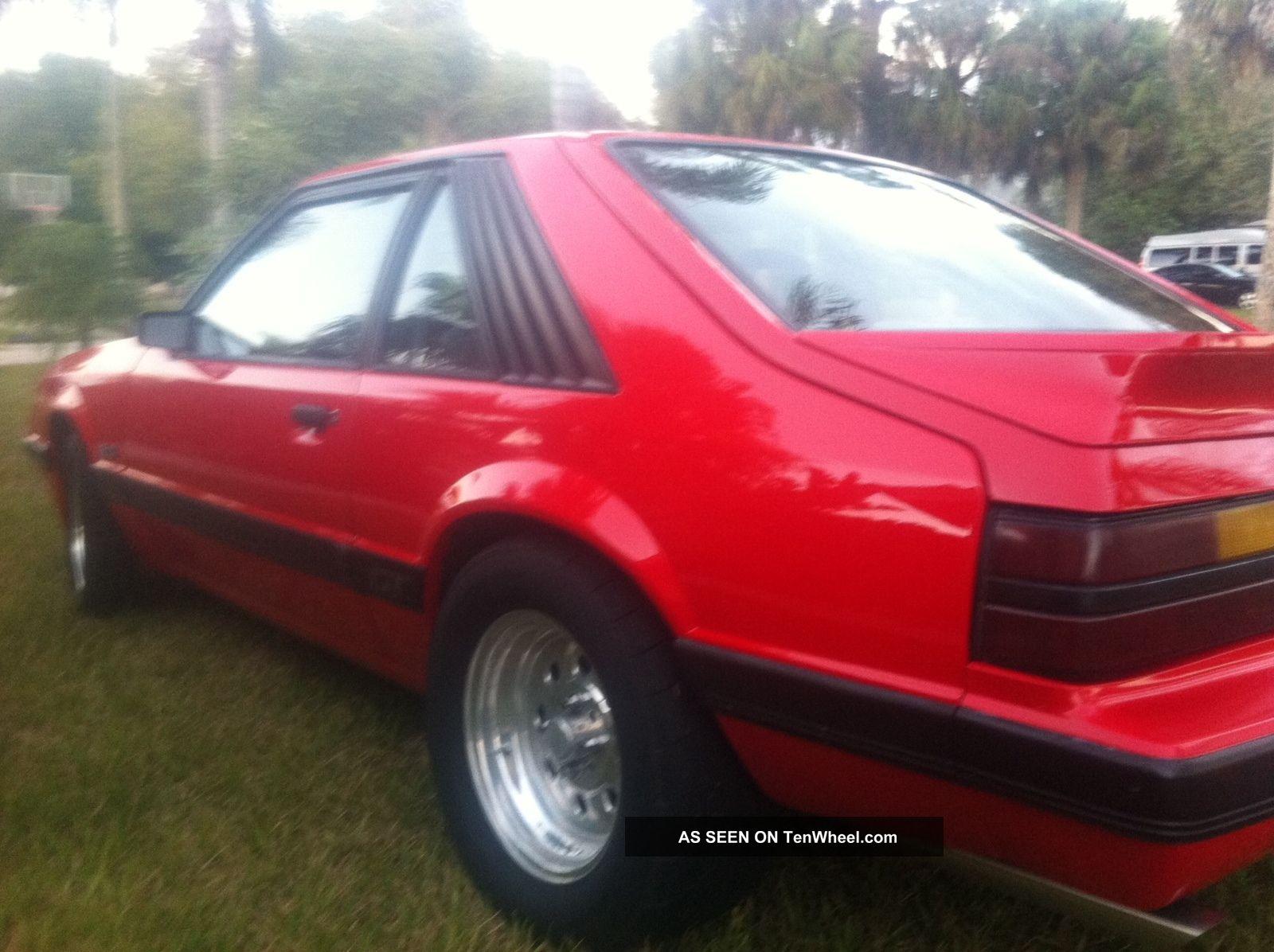 1985 Ford Mustang Gt Hatchback 2 Door 5 0l