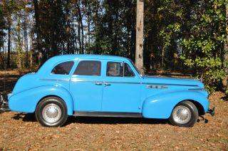 1940 Buick Special 4 - Door Sedan photo