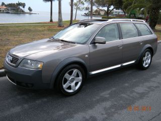 2005 Audi Allroad Quattro Awd 2.  7 V6 Bi - Turbo Moon 2 Tone No Paintwork photo
