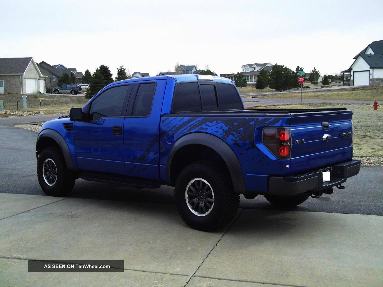 2010 ford f 150 svt raptor extended cab pickup 4 door 5 4l. Black Bedroom Furniture Sets. Home Design Ideas