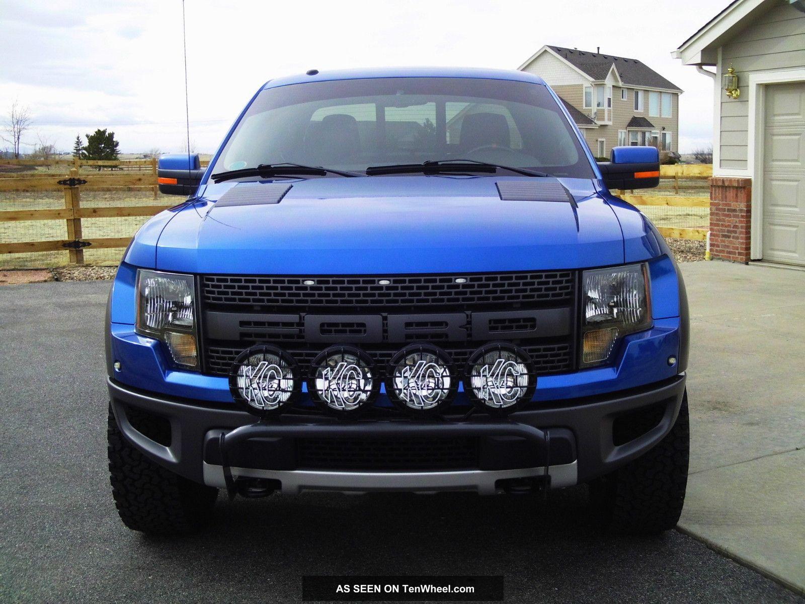 2010 ford f 150 svt raptor extended cab pickup 4 door. Black Bedroom Furniture Sets. Home Design Ideas